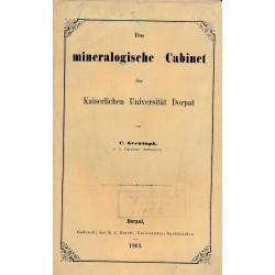 Das mineralogische Cabinet...