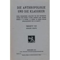 Die Anthropologie und die...