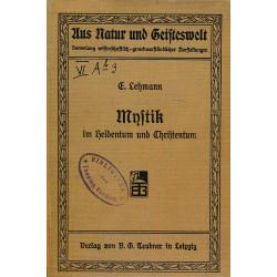 Mystik in Heidentum und...