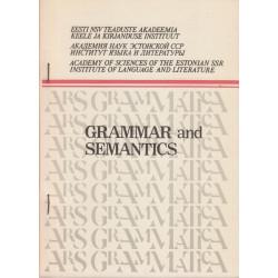 Grammar and semantics