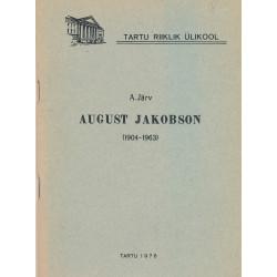 August Jakobson (1904-1963)