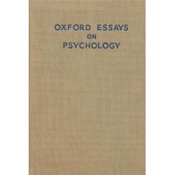Oxford essays on psychology