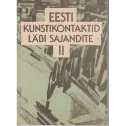 Eesti kunstikontaktid läbi...