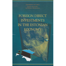 Foreign direct investments in the Estonian economy