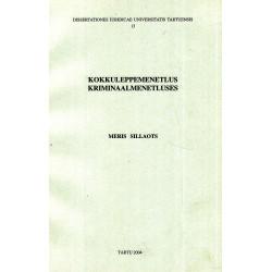 Kokkuleppemenetlus kriminaalmenetluses