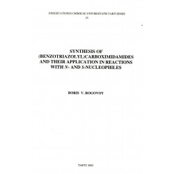 Synthesis of (benzotriazolyl)carboximidamides ...