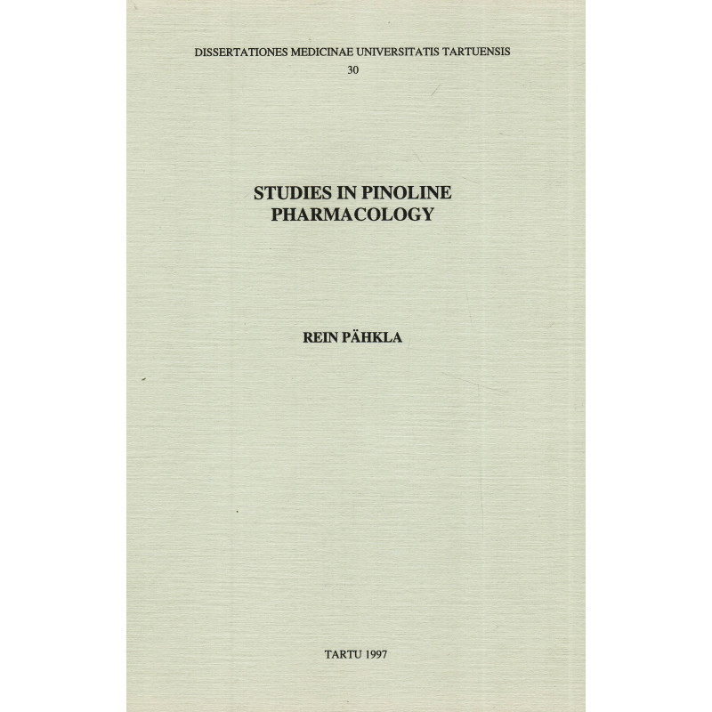 Studies in pinoline pharmacology