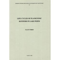 Life cycles of planktonic rotifers in Lake Peipsi
