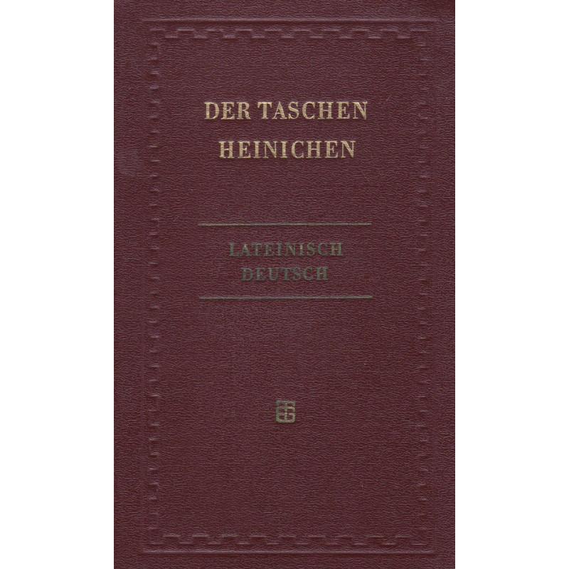 Lateinisch-deutsches Taschenwörterbuch