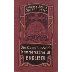 Der kleine Toussaint-Langenscheit. Englisch