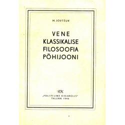 Vene klassikalise filosoofia põhijooni