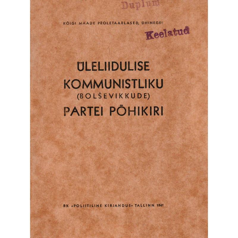 Üleliidulise kommunistliku (bolševikkude) partei põhikiri