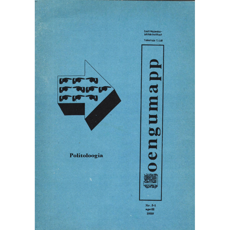 Politoloogia. Loengumapp Nr. 5-1