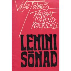 Lenini sõnad: kantaat ühendkooridele