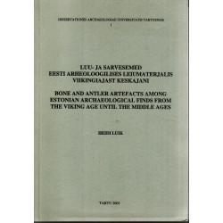 Luu- ja sarvesemed eesti arheoloogilises leiumaterjalis viikingiajast keskajani