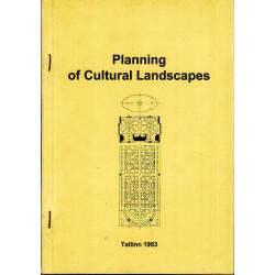 Planning of Cultural Landscapes