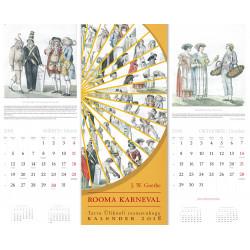 TÜ raamatukogu 2018. aasta kalenderalbum