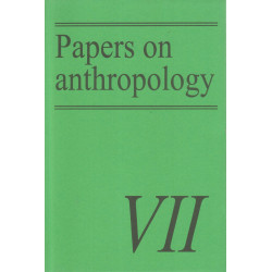 Papers on anthropology VII