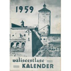 Väliseestlase kalender 1959