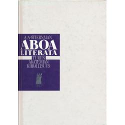 Aboa literata : Turun akatemian kirjallisuus