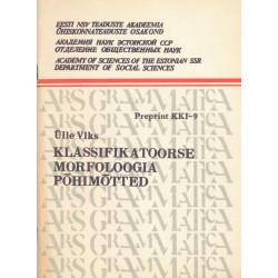 Klassifikatoorse morfoloogia põhimõtted